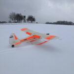 Januar 2021 - Erster im Schnee!